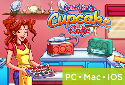 Gamers Digital Jessica's Cupcake Cafe