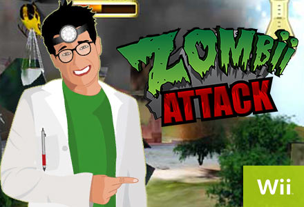 Gamers Digital Zombii Attack