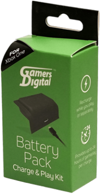 GamersDigital Battery Pack Charge & Play Kit