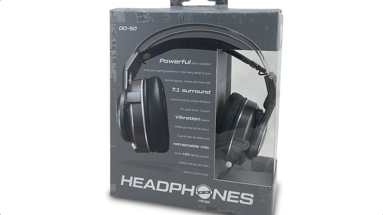 USB Surround Sound Headphones