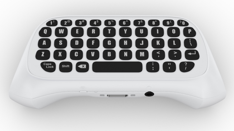 White Xbox One Chatpad